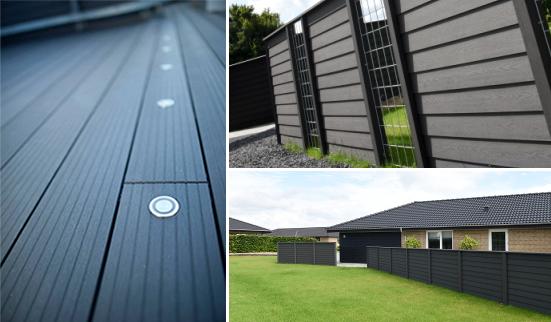 Komposit terrasse og komposit hegn fra Kirkedal i top kvalitet