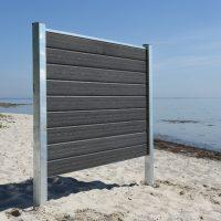Kirkedal Komposit Hegn - Galvaniseret Design Serie_2