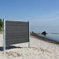 Kirkedal Komposit Hegn - Galvaniseret Design Serie_4