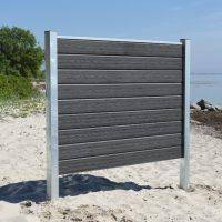 Kirkedal Komposit Hegn - Galvaniseret Design Serie_5