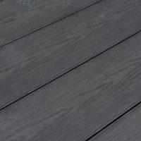 Kirkedal Komposit Terrasse SOLID EXTREM - BLACK