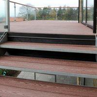 Kirkedal Komposit terrasse og trappe Hinnerup11