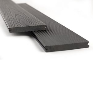 Vareprøve terrasse sort, Sort terrassegulv